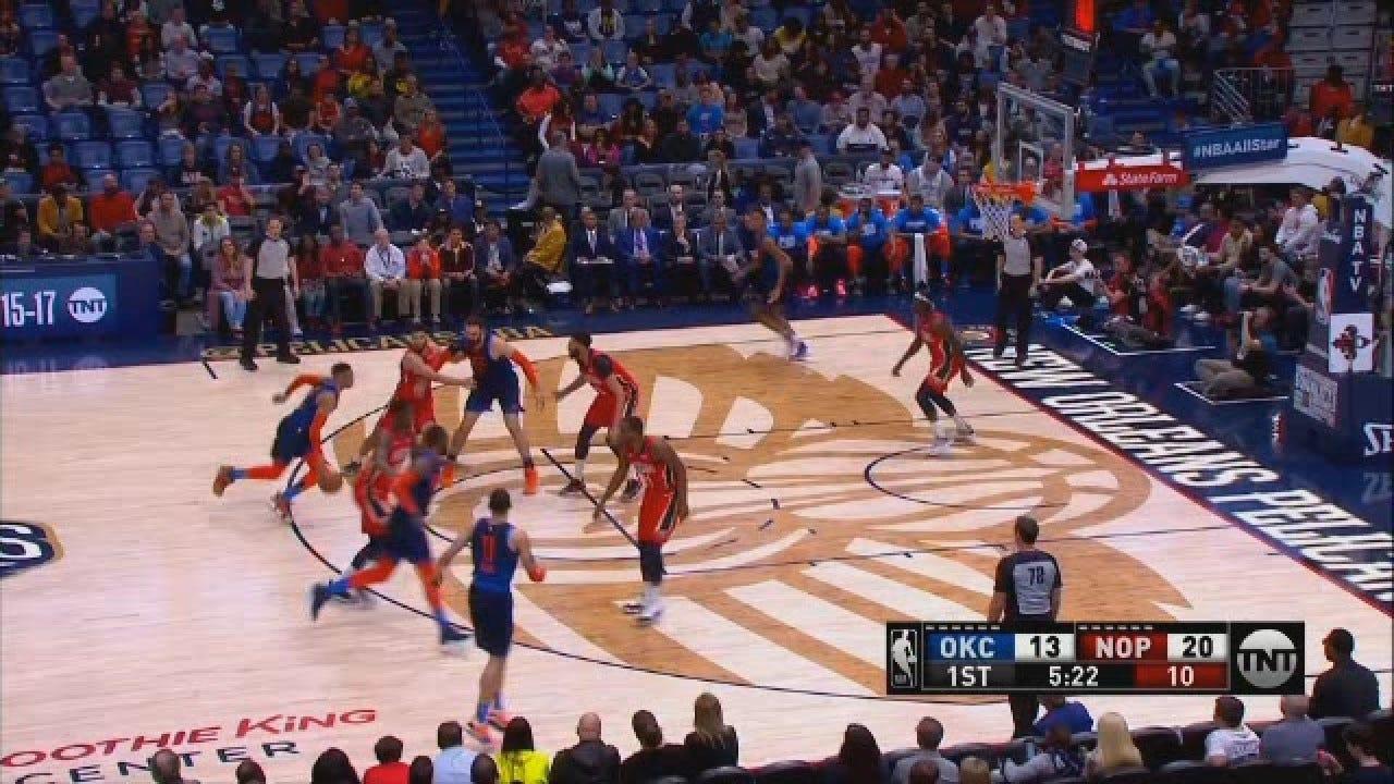 WATCH: Westbrook Becomes Thunder/Sonics Franchise Leading Scorer