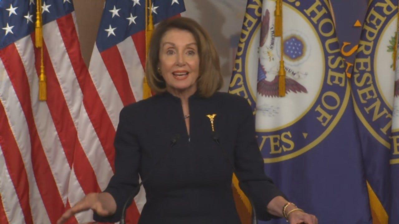 Nancy Pelosi Weighs-In On Spending Bill, Trump Calling National Emergency