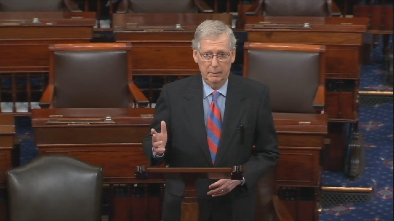 McConnell Says Trump Will Sign Border Bill, Declare National Emergency