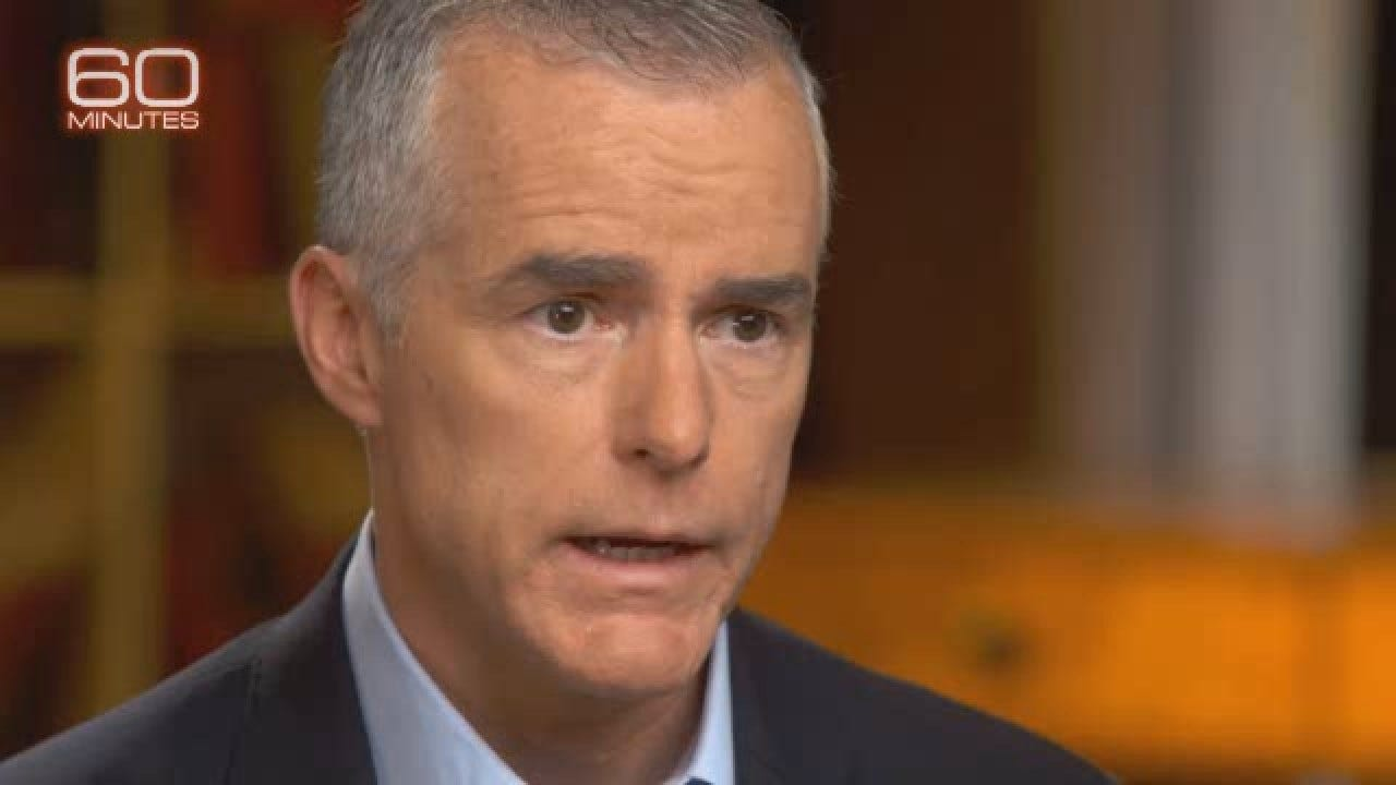 McCabe On Why He Opened Investigations Involving Trump