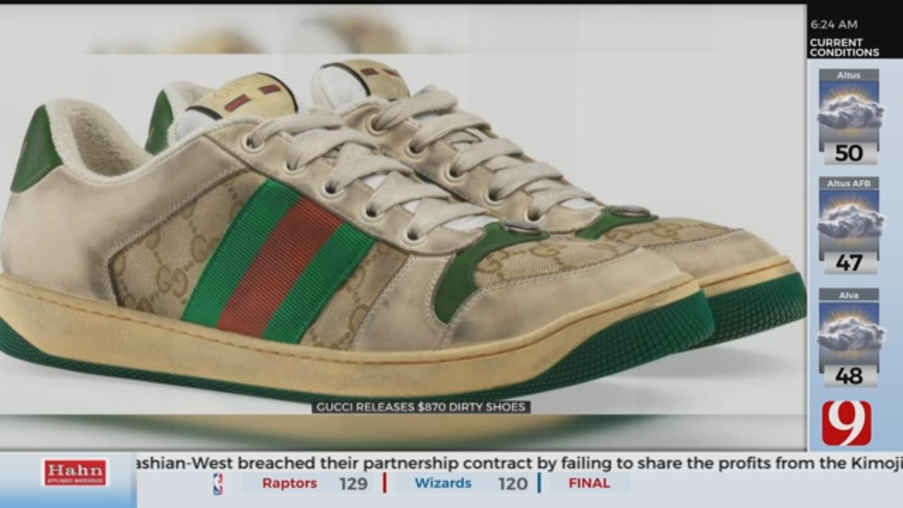 Gucci Releases $870 Dirty Shoes