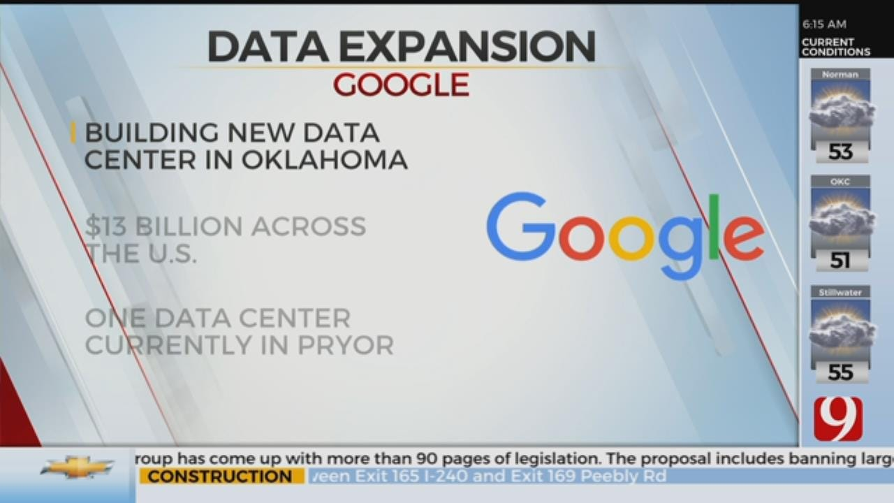 Google Planning To Add Data Center In Oklahoma