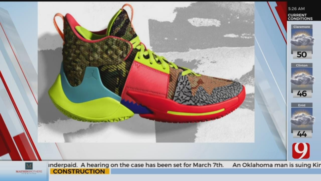 WATCH: Shoe Sneak Peak For The NBA All-Star Game