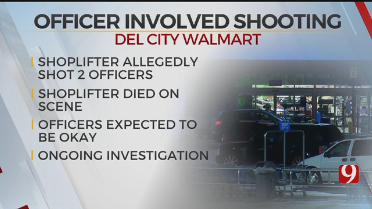 Del City Officer And Security Guard Shot During Walmart Robbery