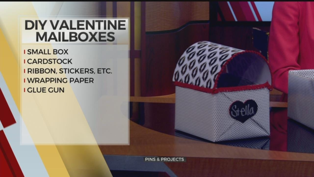 Pins & Projects: DIY Valentine Mailboxes