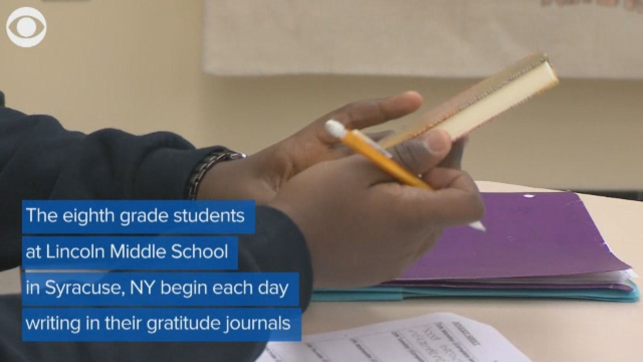 The Positive Effect Of Gratitude Journals On Students