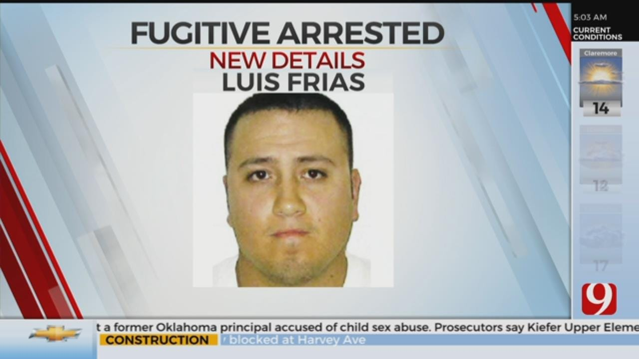 OK Man On US Marshall Most Wanted List Arrested
