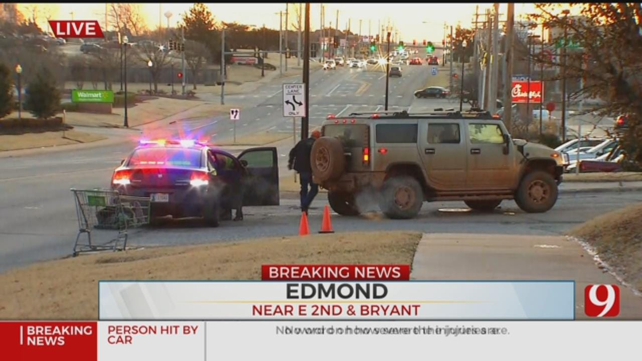 Police Respond To Auto-Pedestrian Accident In Edmond