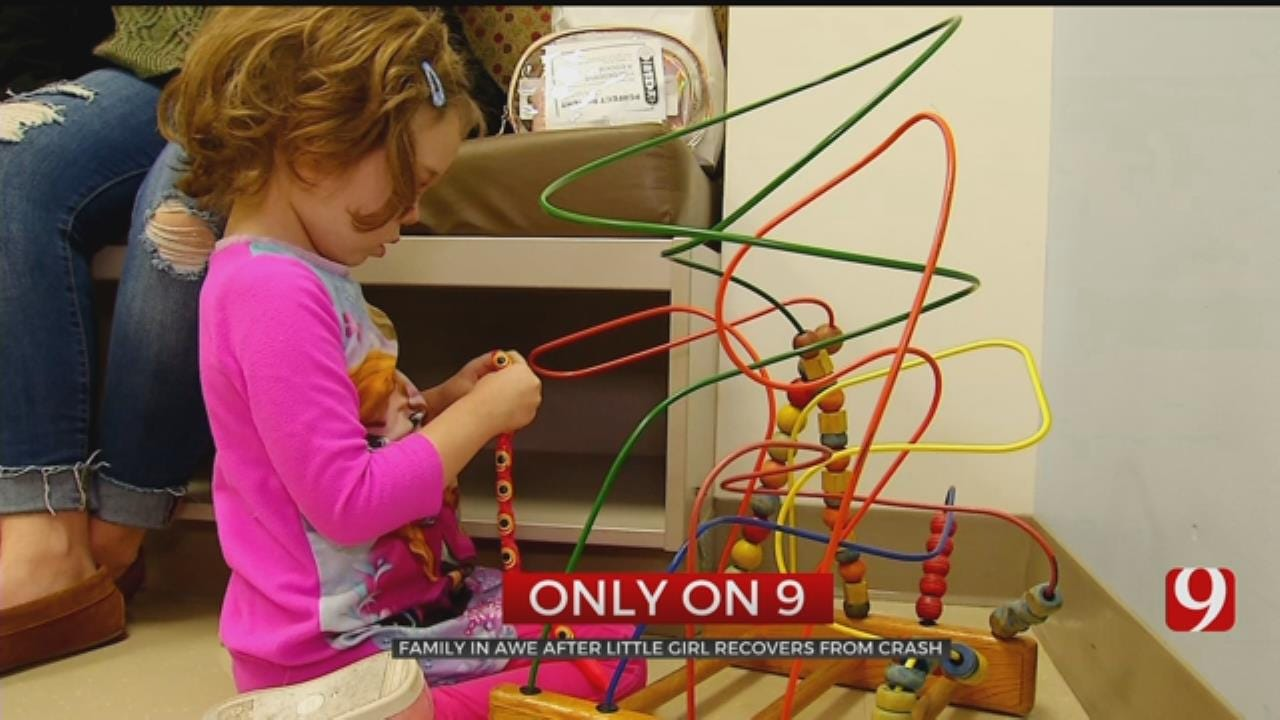 4-Year-Old Making Miraculous Recovery After DUI Crash In Elk City