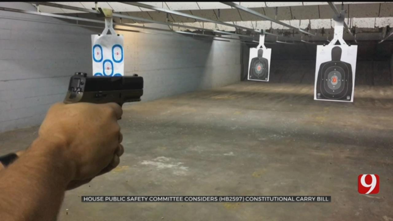 House Committee Passes Constitutional Carry