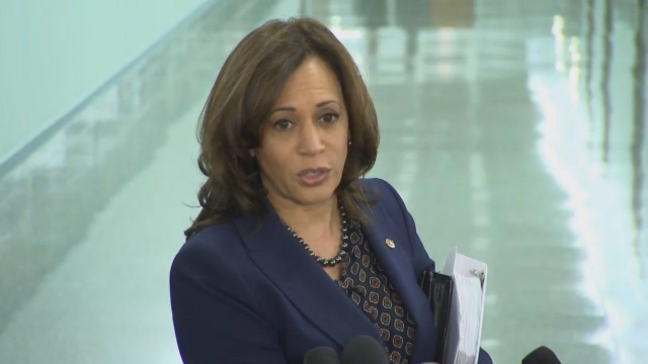 Sen. Kamala Harris Responds To Blackface Controversies In Virginia