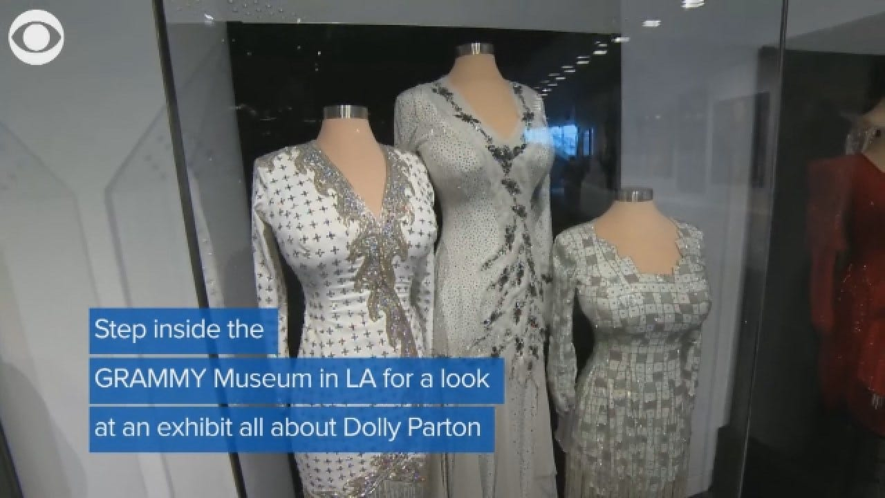 GRAMMY Museum's Dolly Parton Exhibit Opens