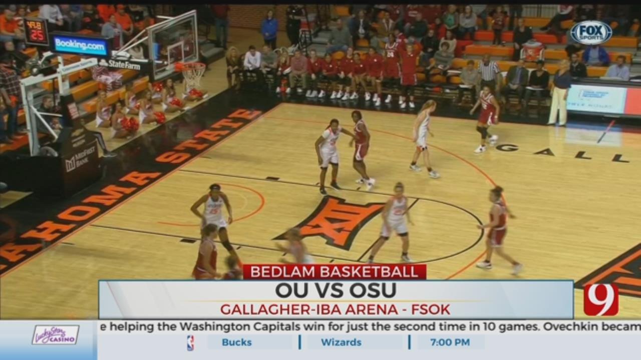 Bedlam: OSU Beats In-State Rival OU 84-74