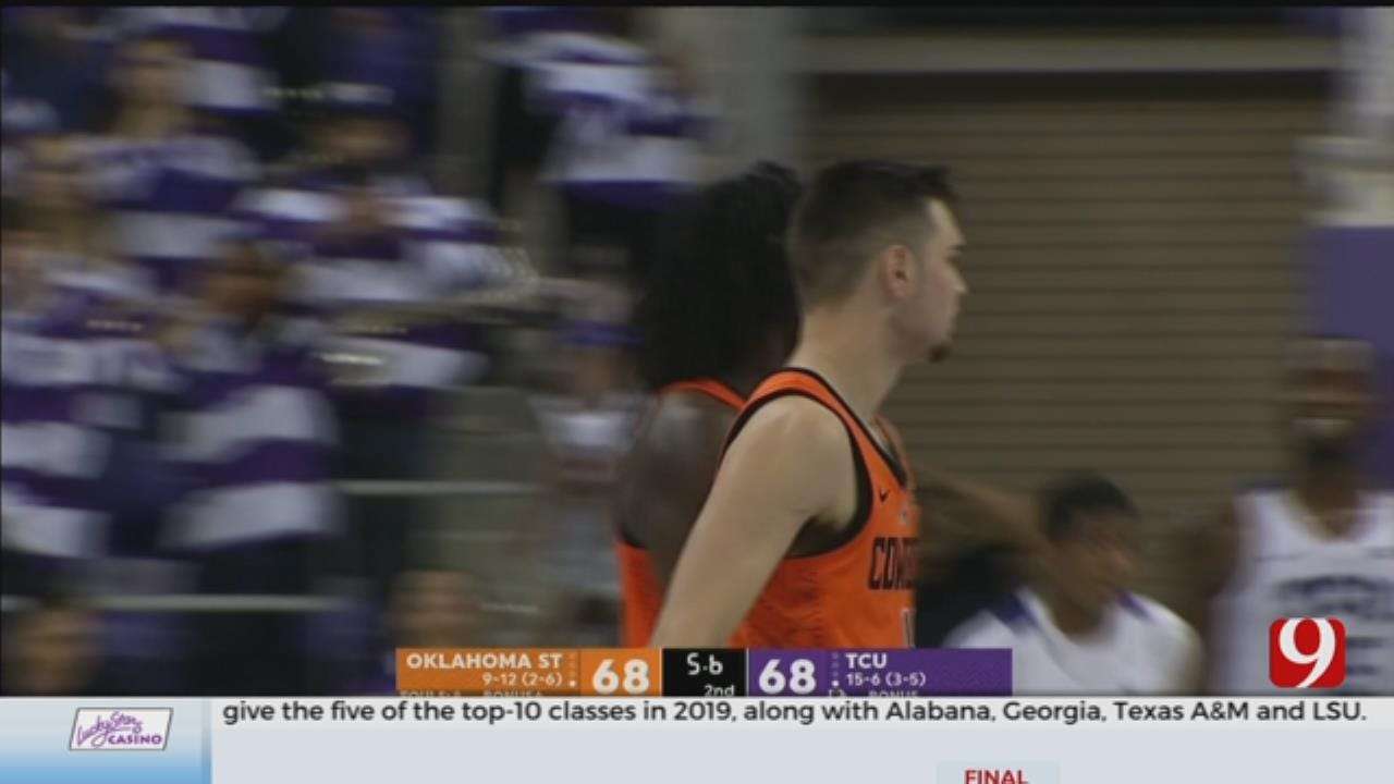 Last-Second Shot For TCU In 70-68 Win Over Oklahoma State