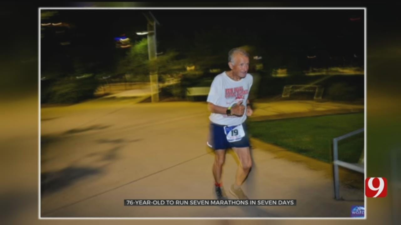 76-Year-Old Oklahoma Man To Run 7 Marathons In 7 Days