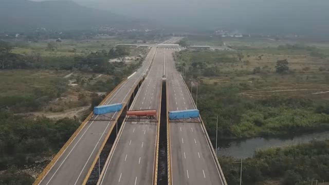 Venezuelan Authorities Try To Block Humanitarian Aid