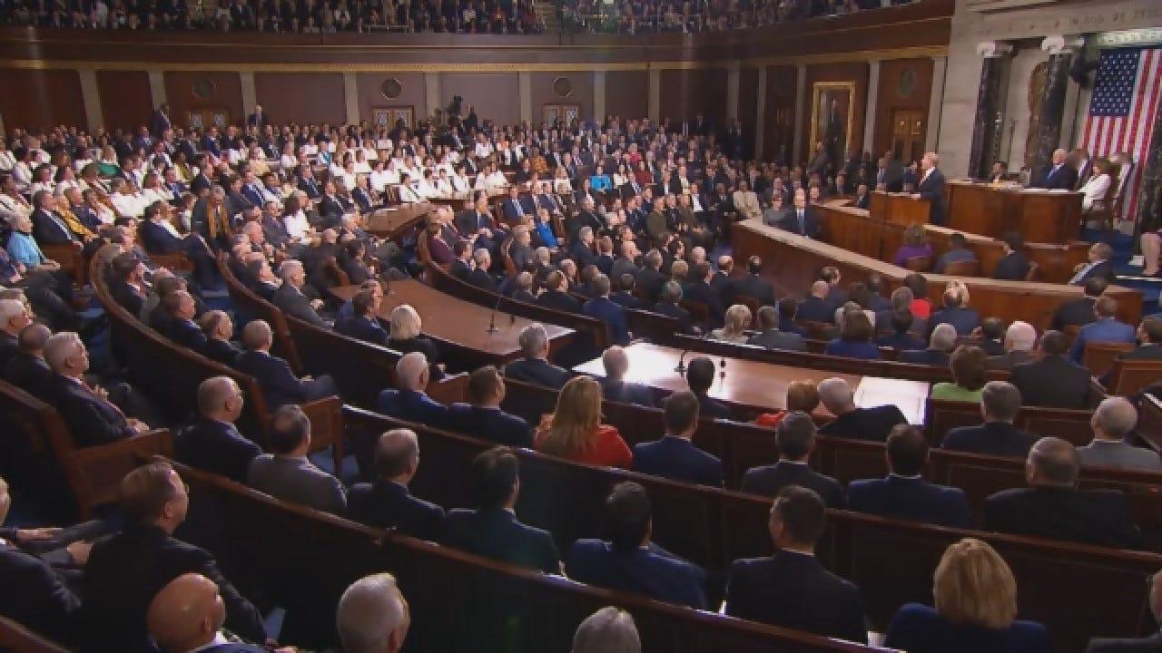 President Trump Calls For Bipartisanship, A Hard Line On Immigration
