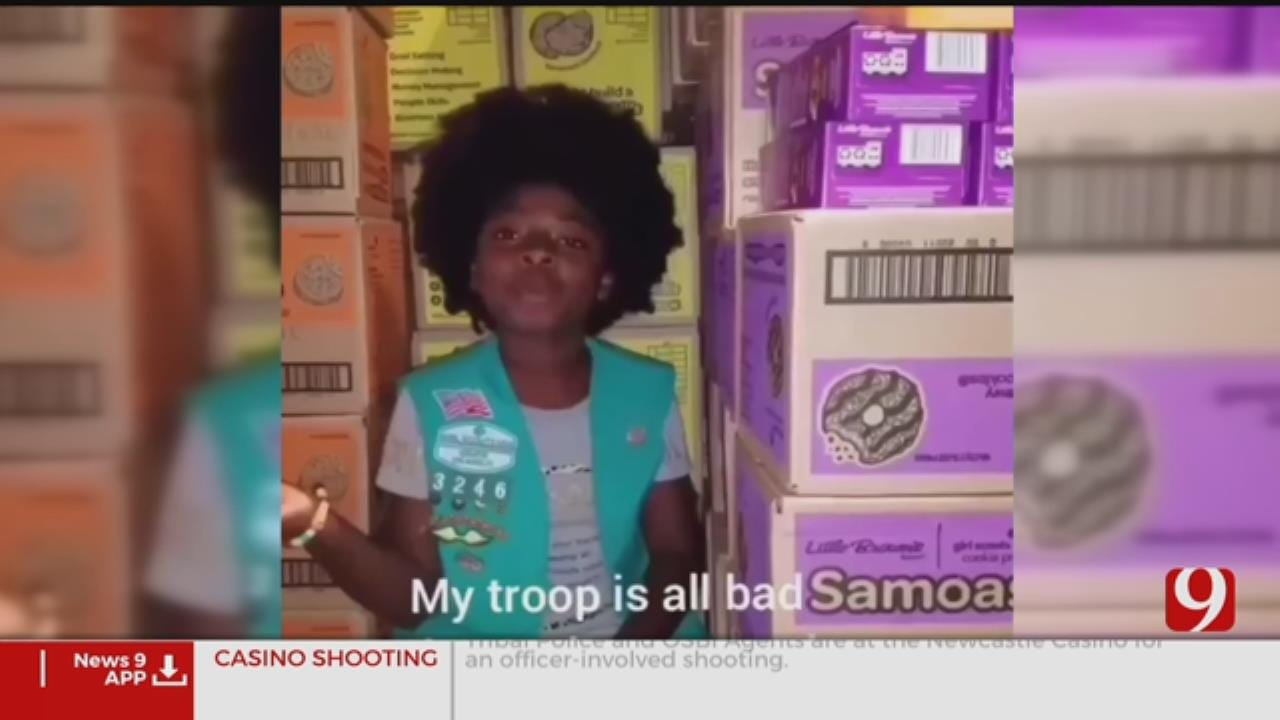 Girl Scout's Cookie-Themed Rap Goes Viral