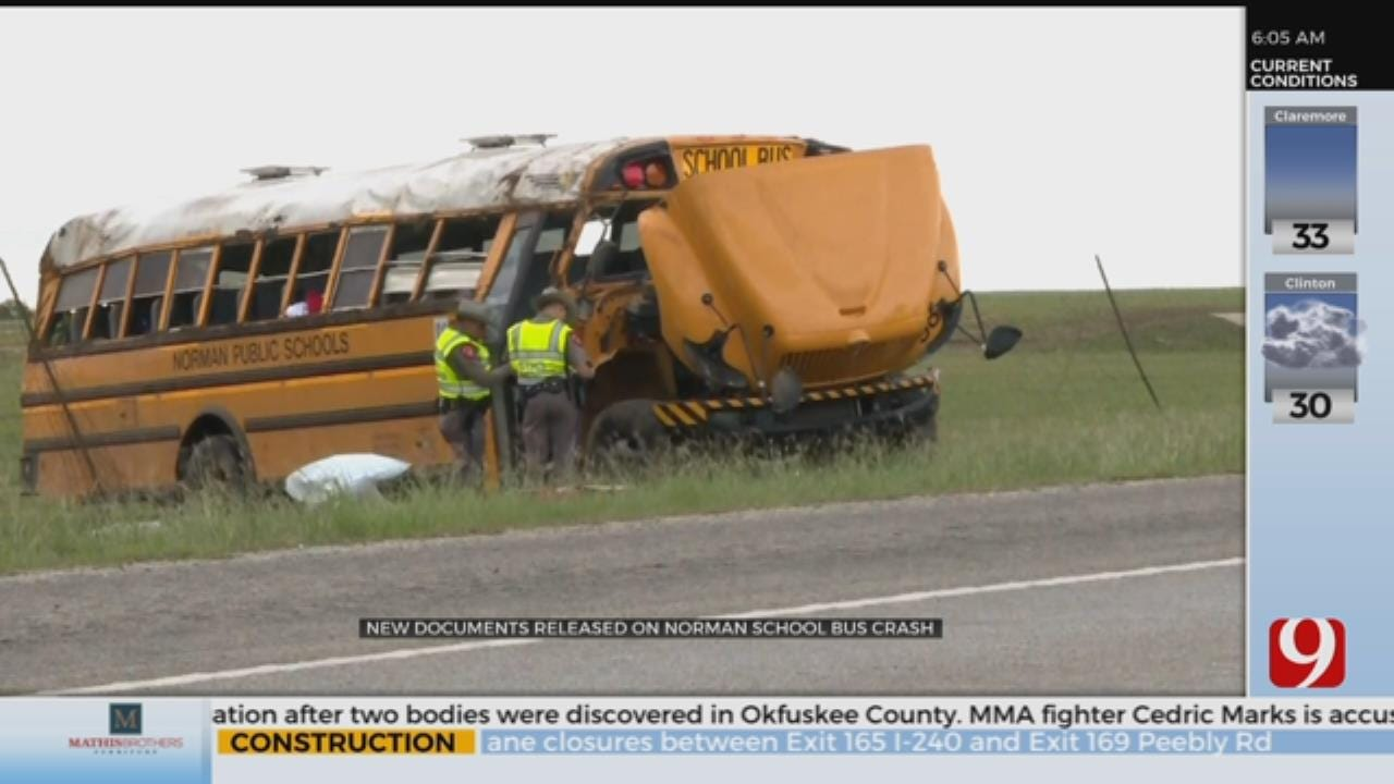 Documents Allege Bus Driver On Cell Phone Prior To Crash
