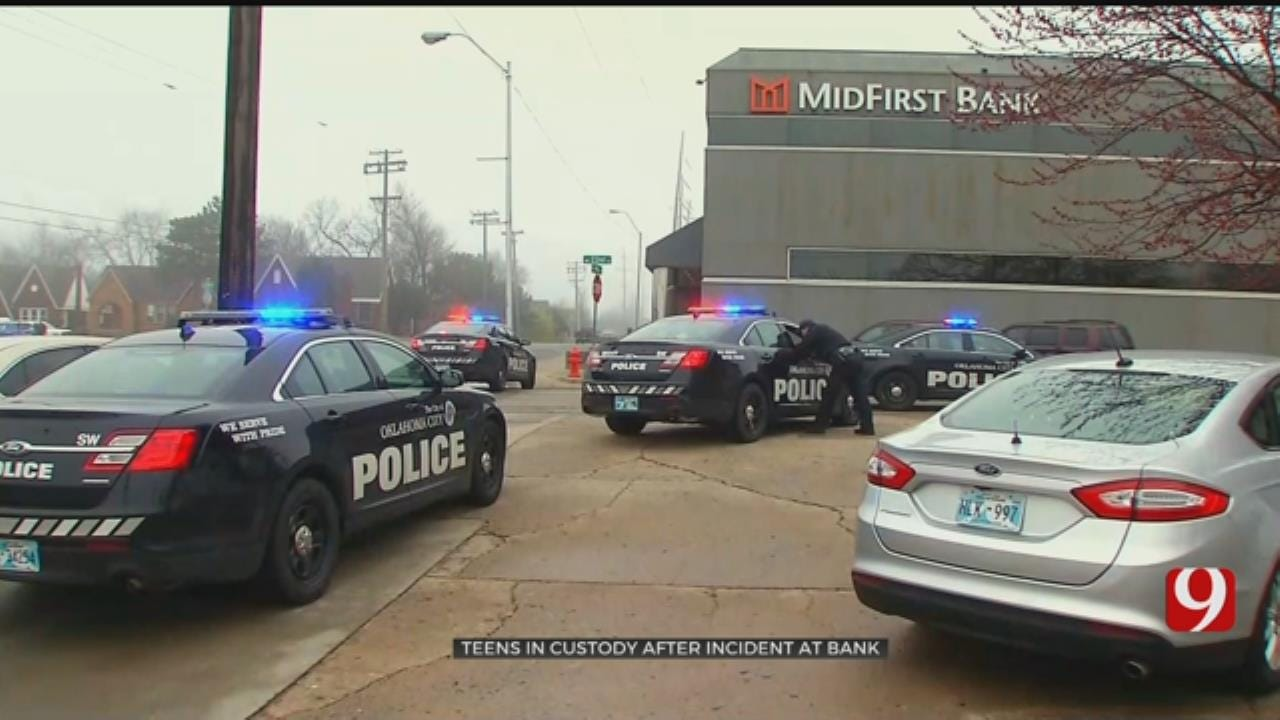 3 Suspects In Custody After Incident At NW OKC Bank