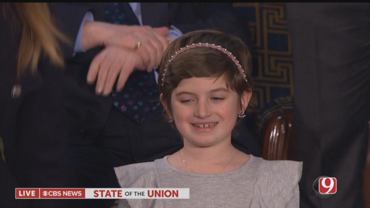 President Trump Honors Childhood Cancer Survivor