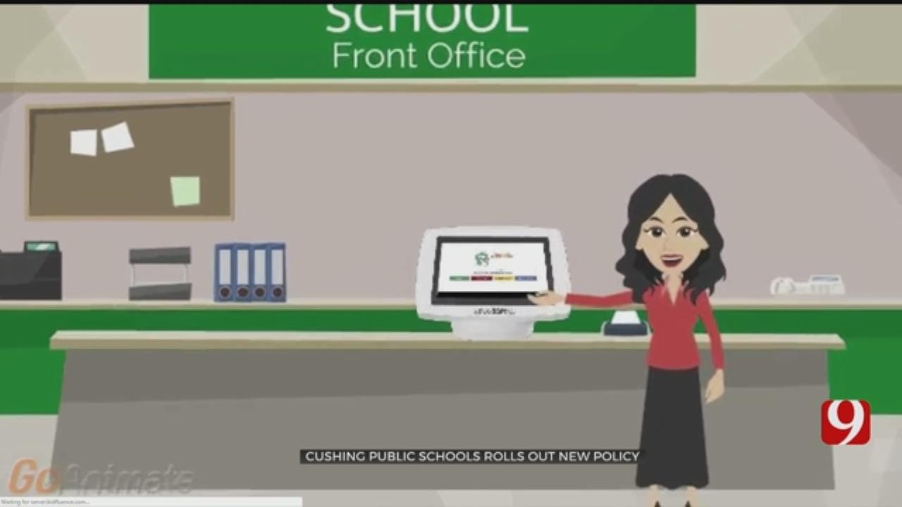 Cushing Public Schools Rolls Out New Visitor Check-In System