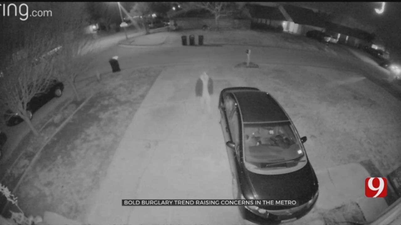Thief's Daring Burglary In Canon North Caught On Surveillance Cameras