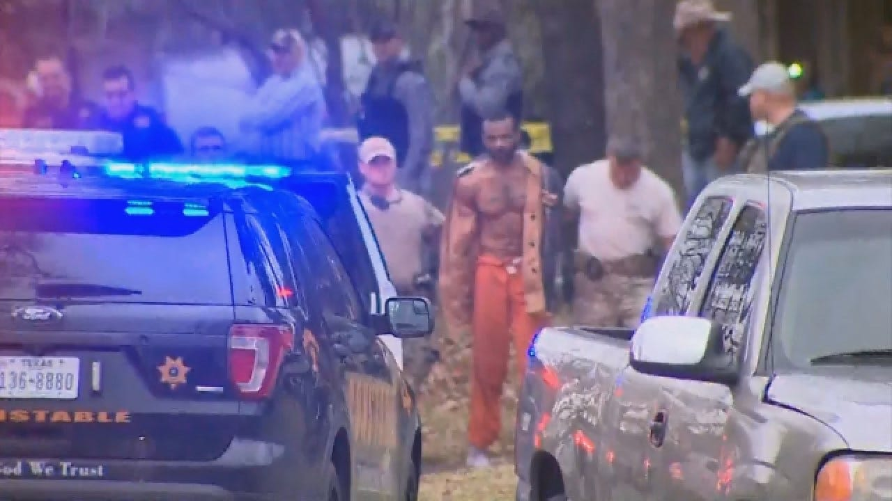 Texas Sheriff: 9 Hour Manhunt Ends With Escapee Back In Custody