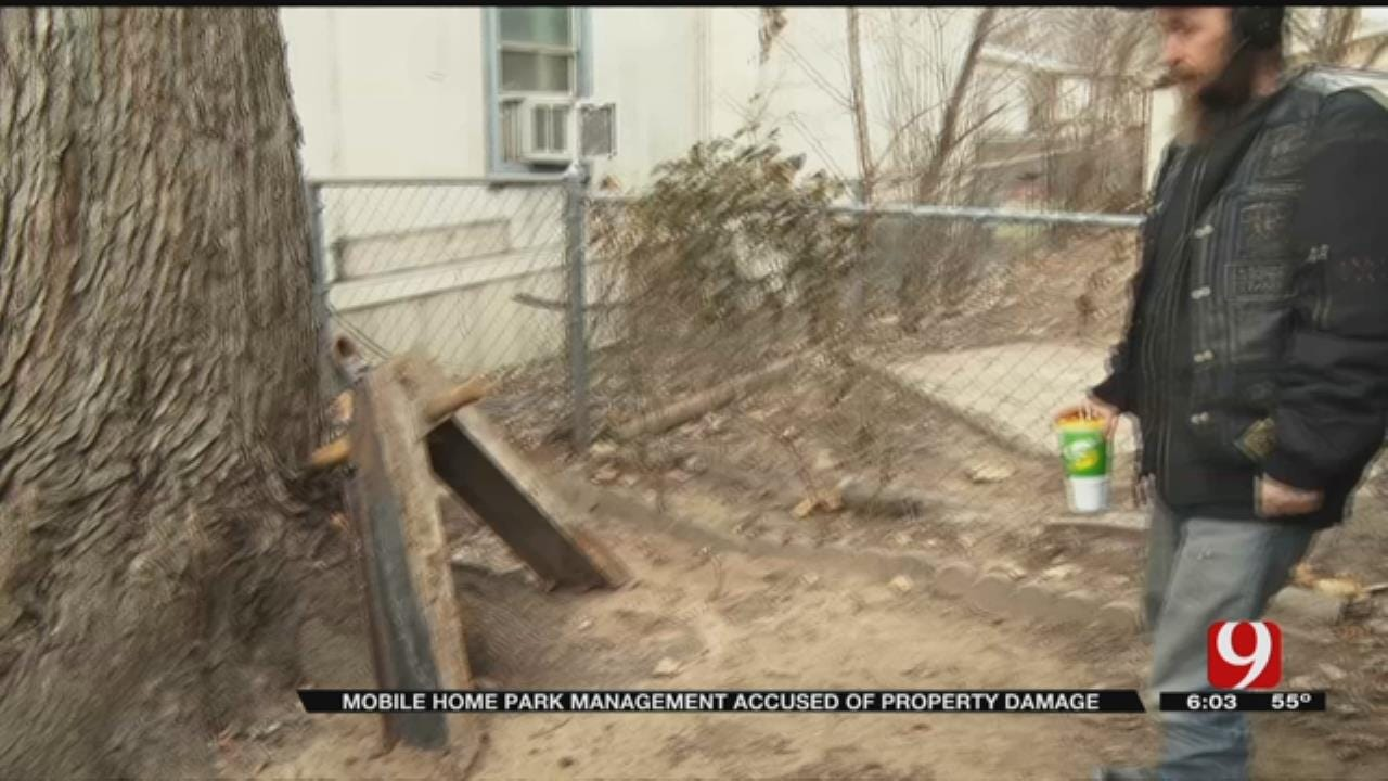 Residents Say Mobile Home Park Continues To Damage Property