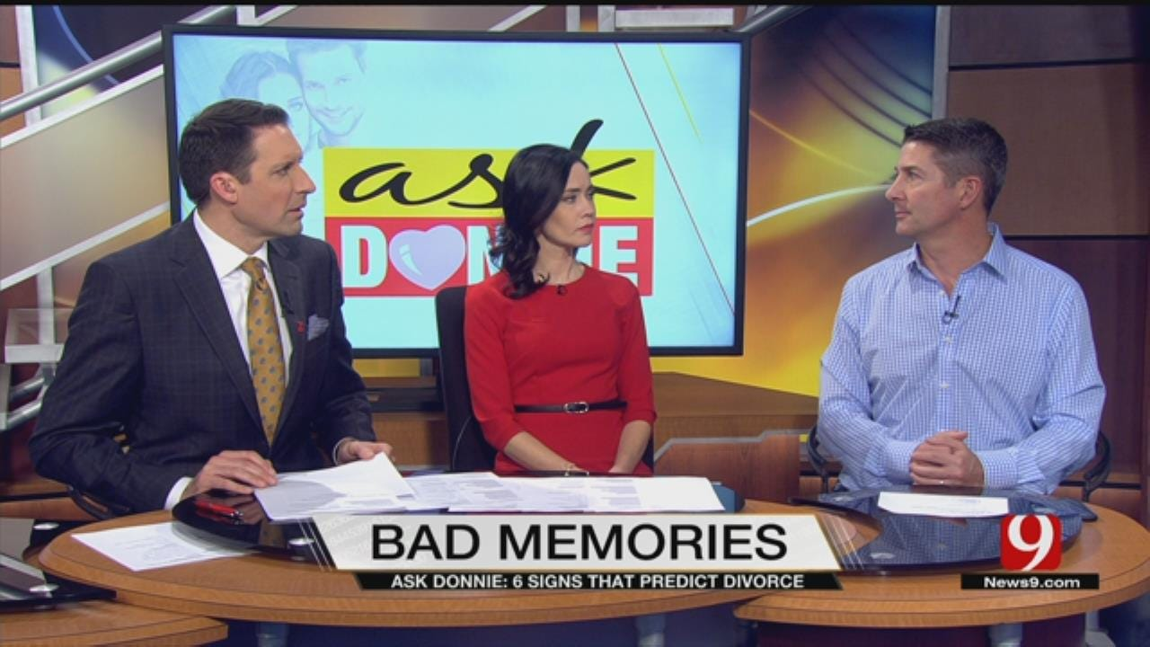 Ask Donnie: Predicting Divorce