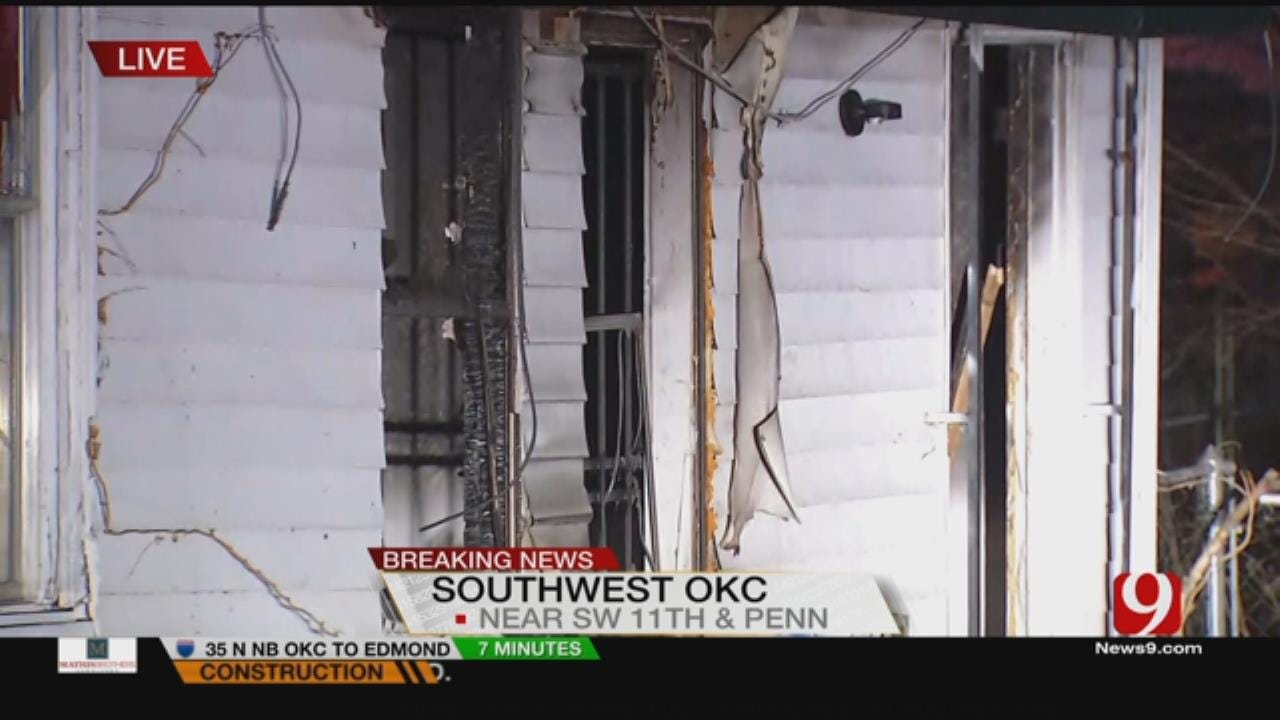 2 Escape Overnight SW OKC House Fire