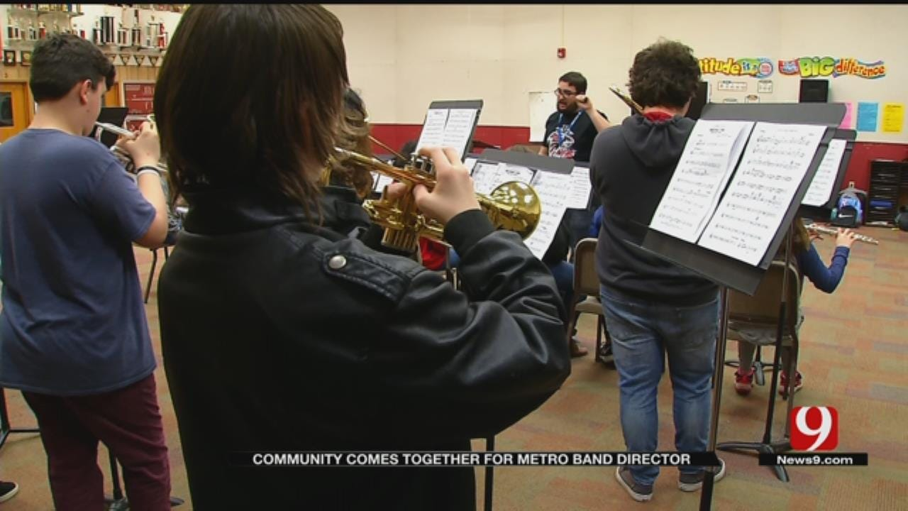 Community Comes Together To Help Del City Band Teacher After Thieves Steal Equipment