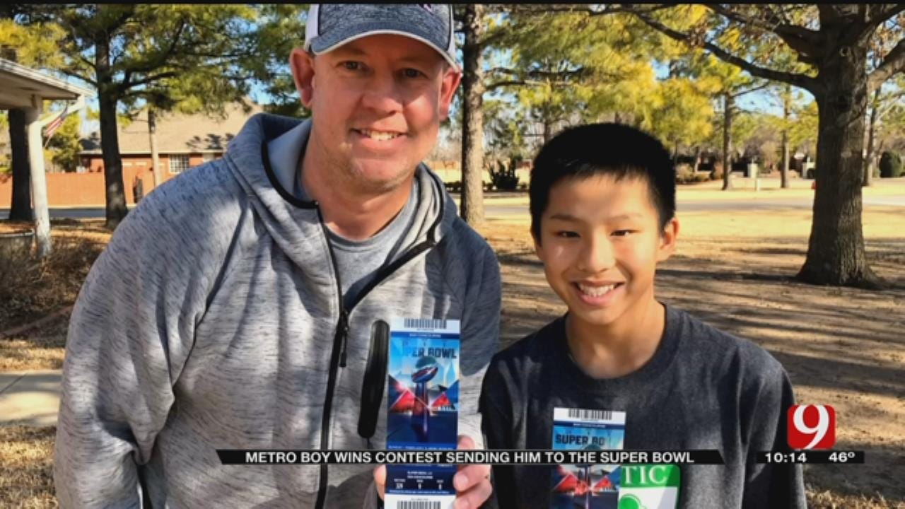Inspirational Norman Teen Wins Trip To Super Bowl