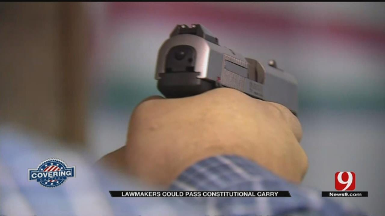 State Lawmakers Could Pass Constitutional Carry