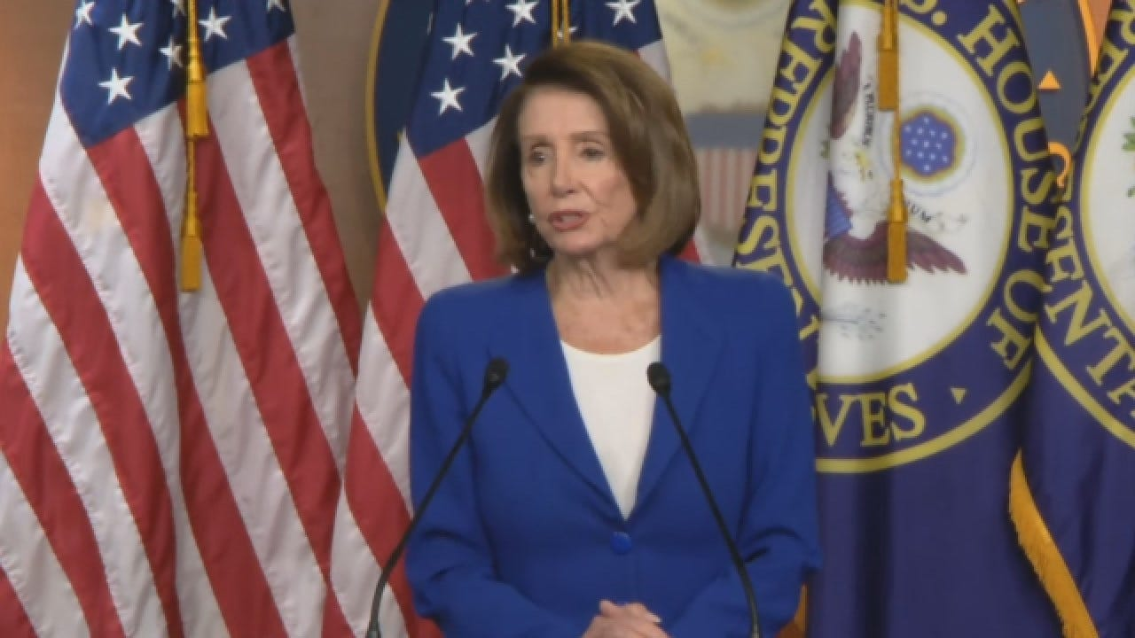 Speaker Pelosi On Trump's Remarks Toward Intelligence Officials