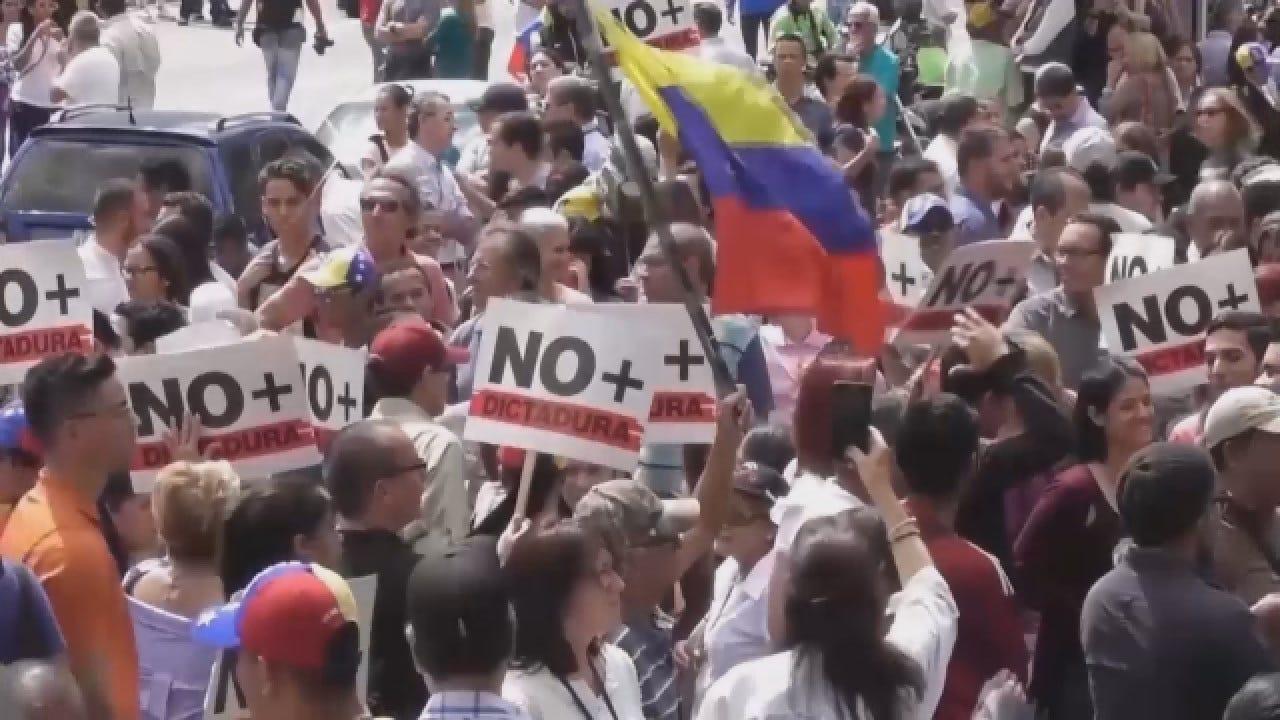 Venezuela In Turmoil After Disputed Election