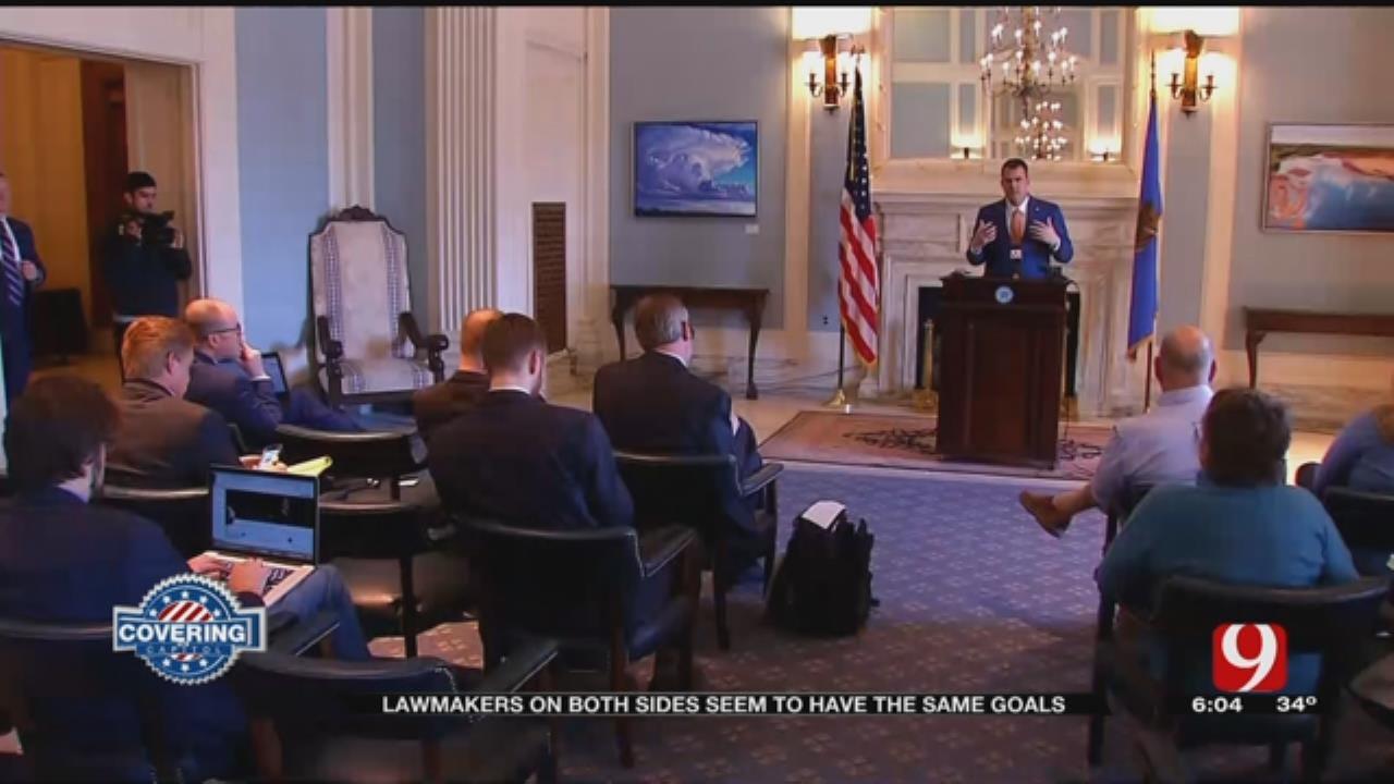 State Lawmakers Agree On Legislative Agendas