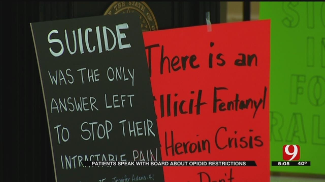 AG Mike Hunter Agrees To Meet With Opioid Patients, Prescribers After Protest