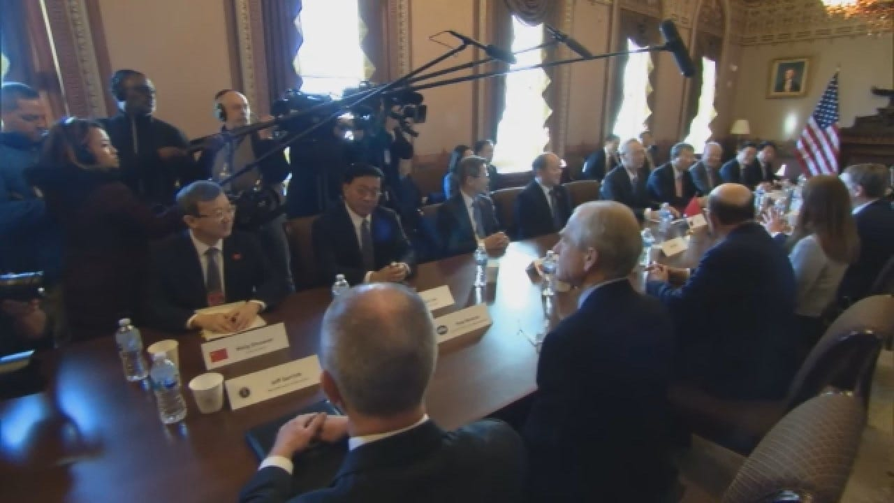 American, Chinese Teams Meet, Hope To End 6-Month Trade War