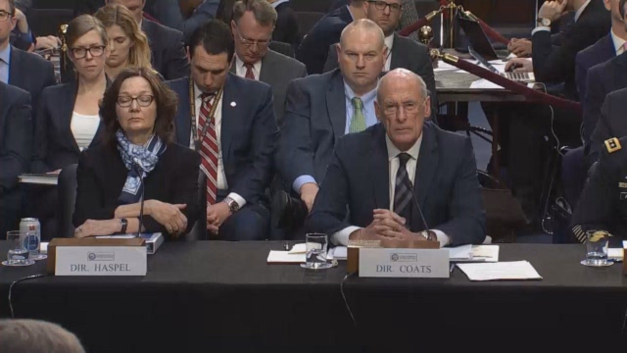 Intelligence Officials Detail Security Threats At Senate Committee Hearing