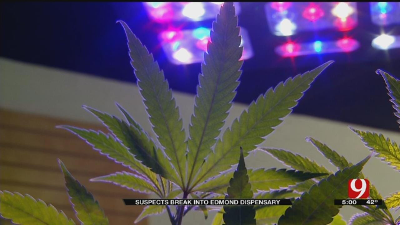 Police Investigating After Edmond Medical Marijuana Dispensary Burglarized