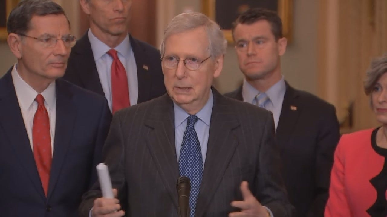 Mitch McConnell On The Independent Counsel Report