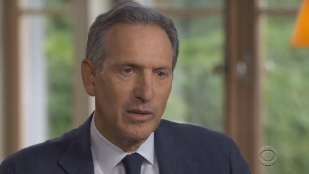 Former Starbucks CEO Announces Intention Of Running For President