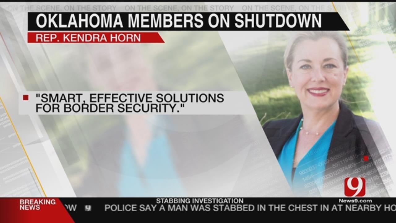 OK Members Of Congress Show Cautious Optimism After Shutdown