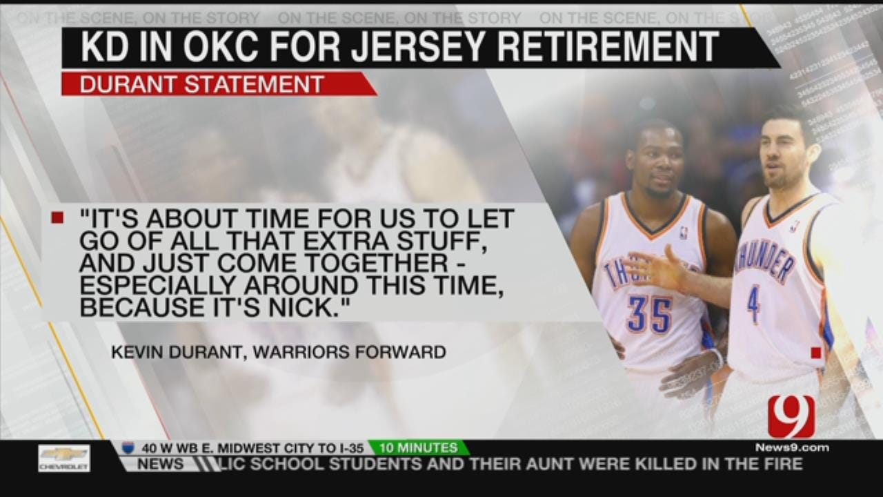 KD Returning To The Peake For Nick Collision Ceremony