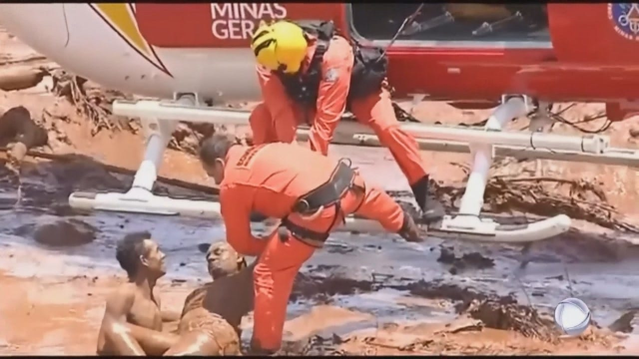 34 Dead, Many Feared Buried In Mud After Brazil Dam Collapse