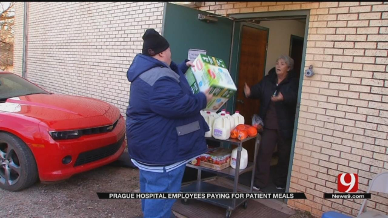 Prague Hospital Employees, Non Profit Helping Provide Patients Meals