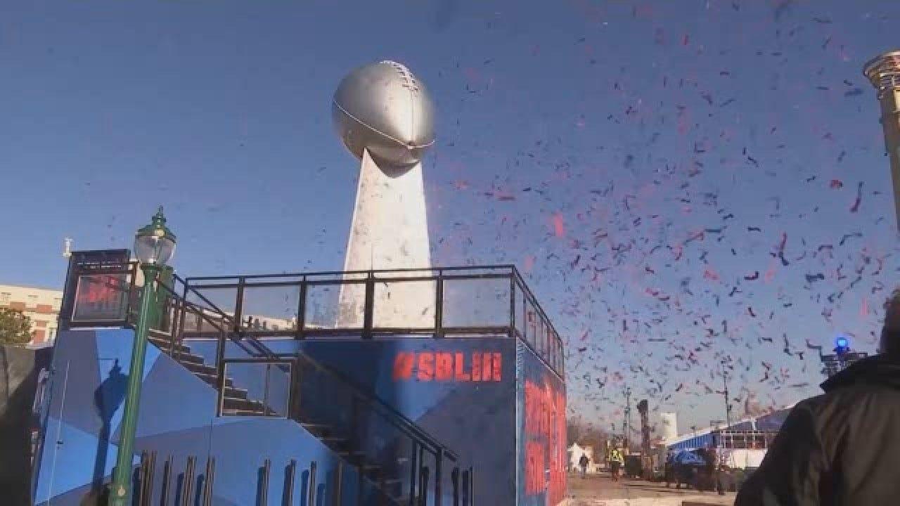 Festivities Begin For Super Bowl LIII In Atlanta