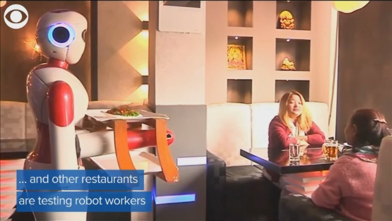 Report Finds Robots And Automation Threatening Millions Of Jobs