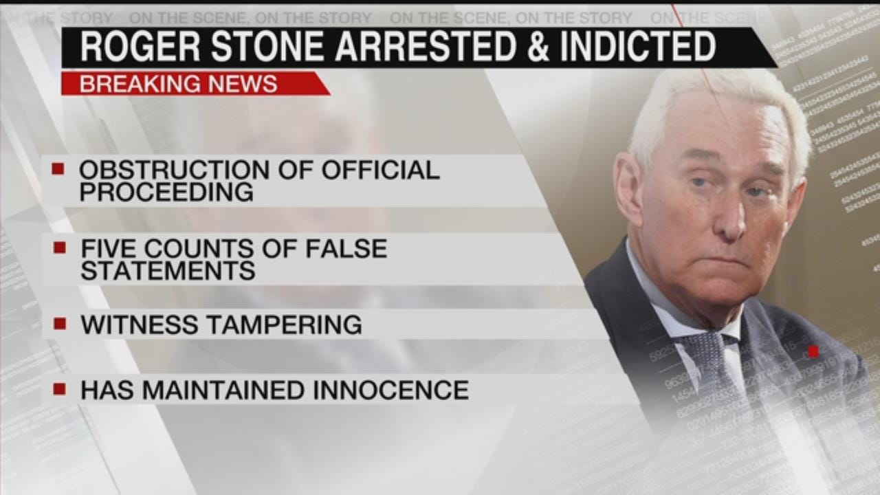 Alert Desk: Trump Associate Stone Arrested, Faces Obstruction Charges